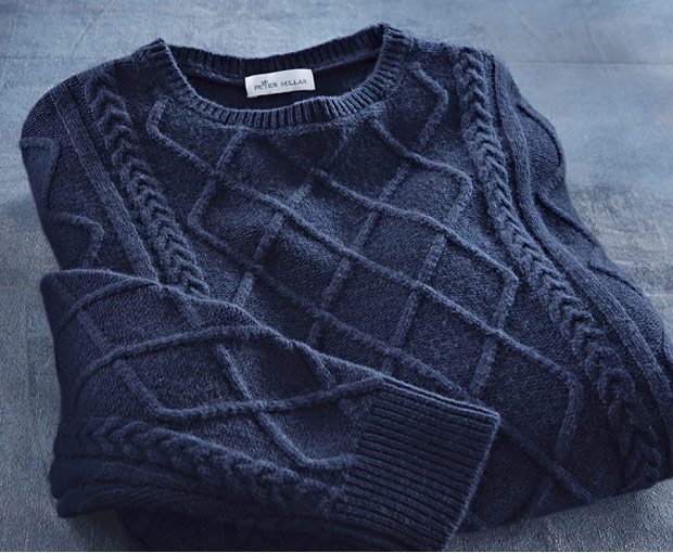 and Fisherman's Sweater