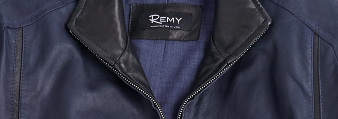 Remy Leather Jackets and Vests