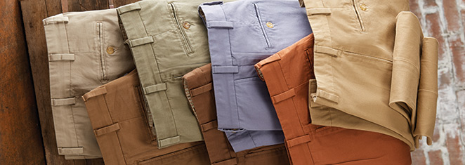 Bills Khakis Sale Priced Pants, Shorts and Shirts | PatrickJames.com