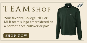 College, MLB and NFL Team Apparel
