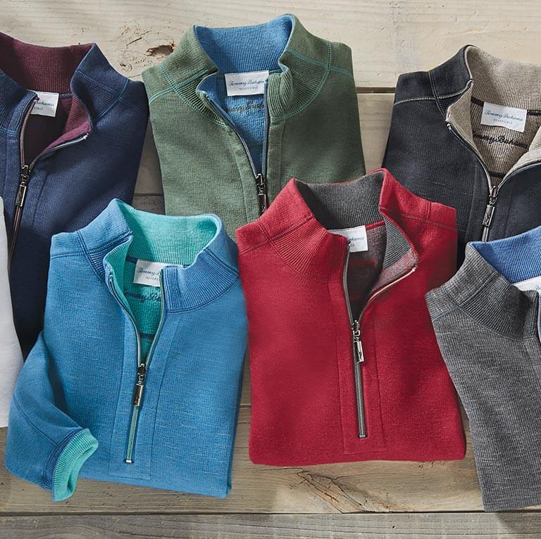 Tommy Bahama Reversible Pullovers