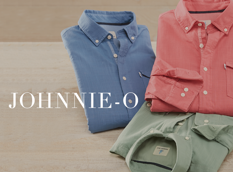 Johnnie O Styles For Spring