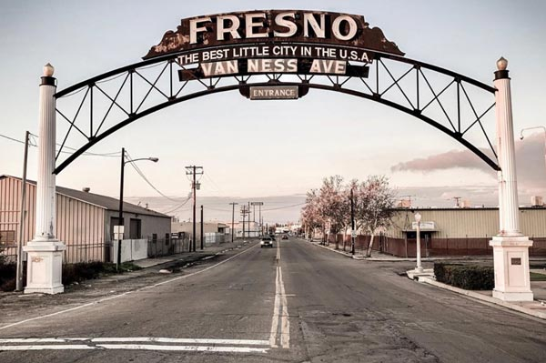Fresno California gate