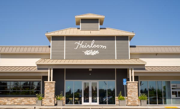 Heirloom Restaurant Fresno California