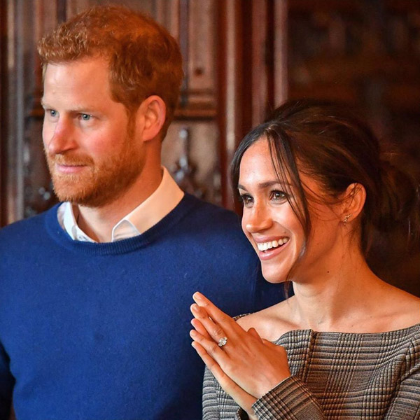 Prince Harry in blue sweater