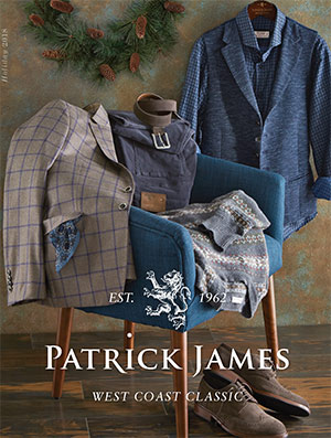 Patrick James focuses on finding the best in menswear from designer labels around the world while providing service above and beyond expectation. Offering a deep range of styles from casual to dress, Patrick James is dedicated to elevating your wardrobe and making you look and feel your absolute best!