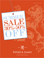 Patrick James Summer Sale 2018 Catalog