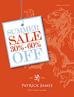 Patrick James Summer Sale 2019 Catalog