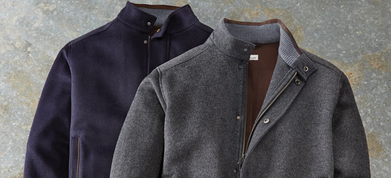 wool and cashmere jackets