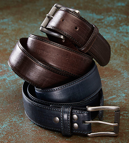 Bill Lavin Distressed Dungaree Belt