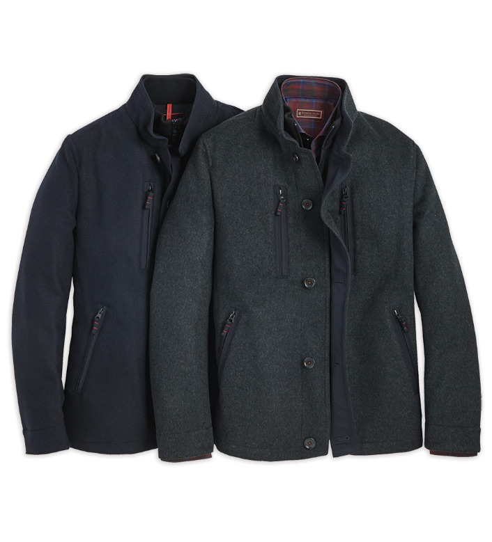 Sanyo Rain-Repellent Wool Jacket
