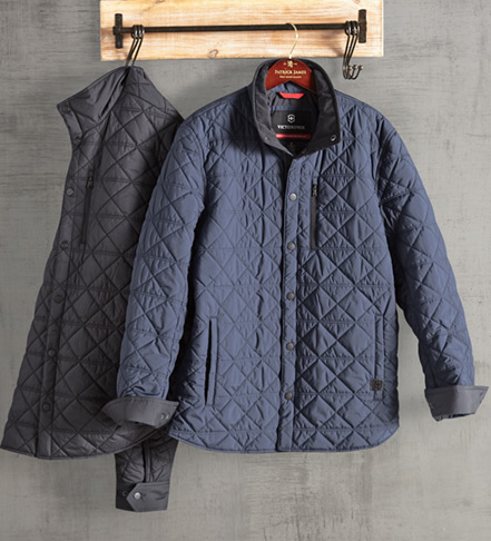 Victorinox Bernhold Quilted Overshirt Jacket