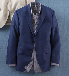 Textured Travel Sport Coat