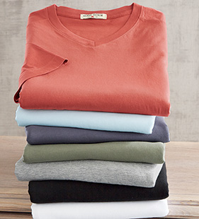 Santaim V-Neck Tee Shirt