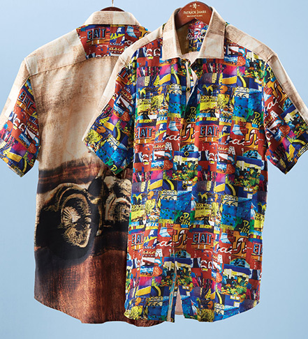 Robert Graham Route 66 Shirt