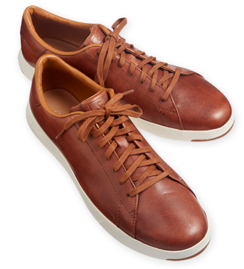 Grand Pro Woodbury Leather Sneakers