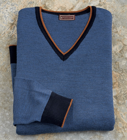 Patrick James V-Neck Sweater