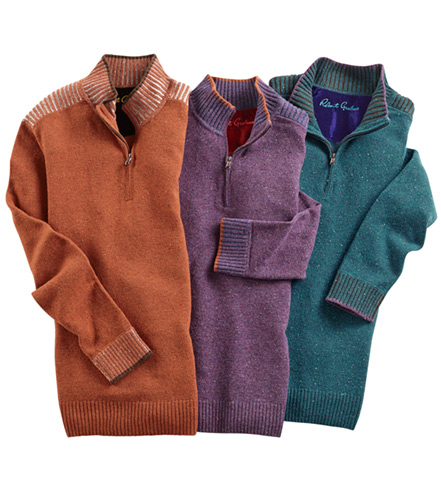 Robert Graham Terzo Quarter-Zip Sweater