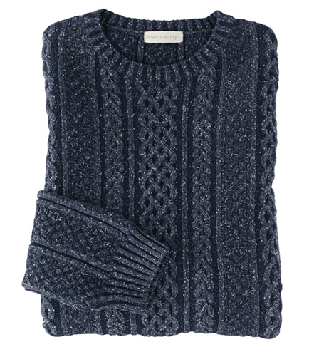 Lenor Romano Cable Sweater