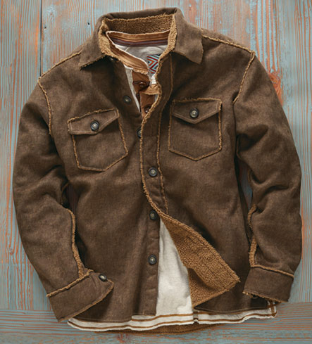 True Grit Solano Faux Suede Jacket