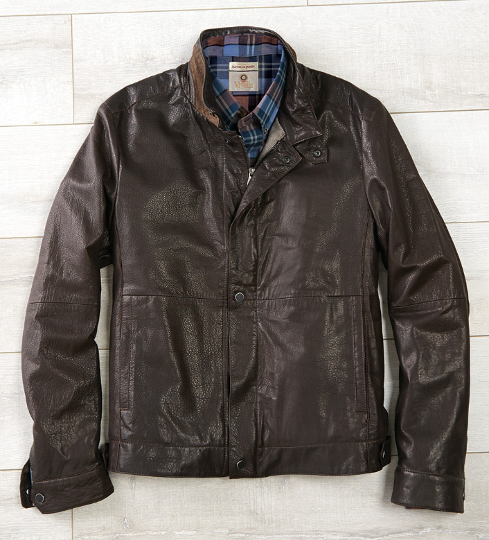 Reserve Leather Bomber