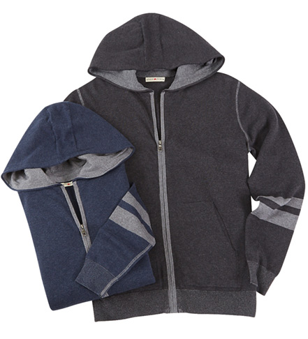 Agave Jackson Full Zip Cotton Hoodie