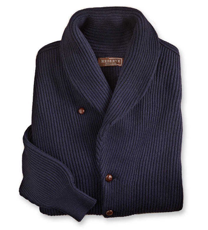 Reserve Double Shawl Collar Cardigan