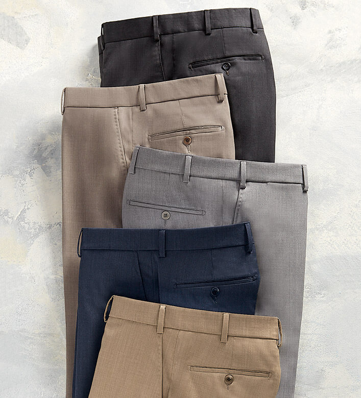 Reserve Loro Piana Gabardine Dress Slacks