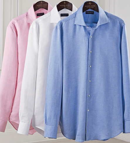 Peter Millar Silky Touch Long Sleeve Sport Shirt