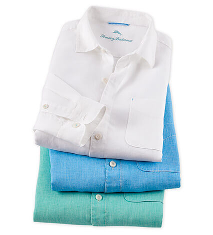 Seaglass Long Sleeve Breezer Sport Shirt