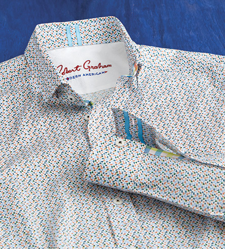 Robert Graham Modern Americana Phillip Long Sleeve Sport Shirt