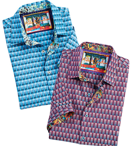 Robert Graham Jai Short Sleeve Sport Shirt