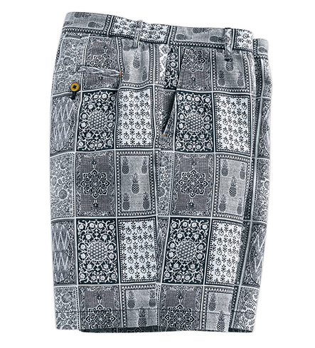 Robert Graham Doaba Block Print Shorts