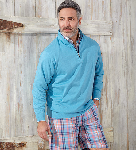 Peter Millar Manteo Madras Plaid Shorts