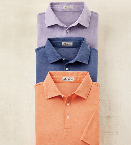 Peter Millar Crown Short Sleeve Polo