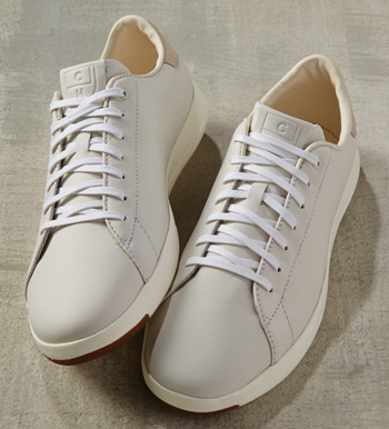 Grand Pro White Tennis Sneakers
