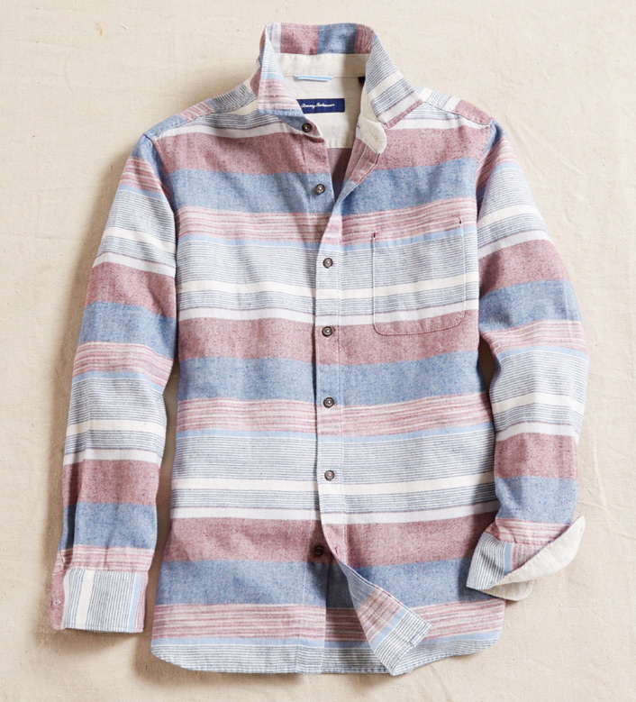 Tommy Bahama Zahra Flannel Long Sleeve Sport Shirt