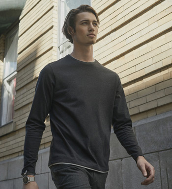 Halifax Long Sleeve Crewneck Tee Shirt