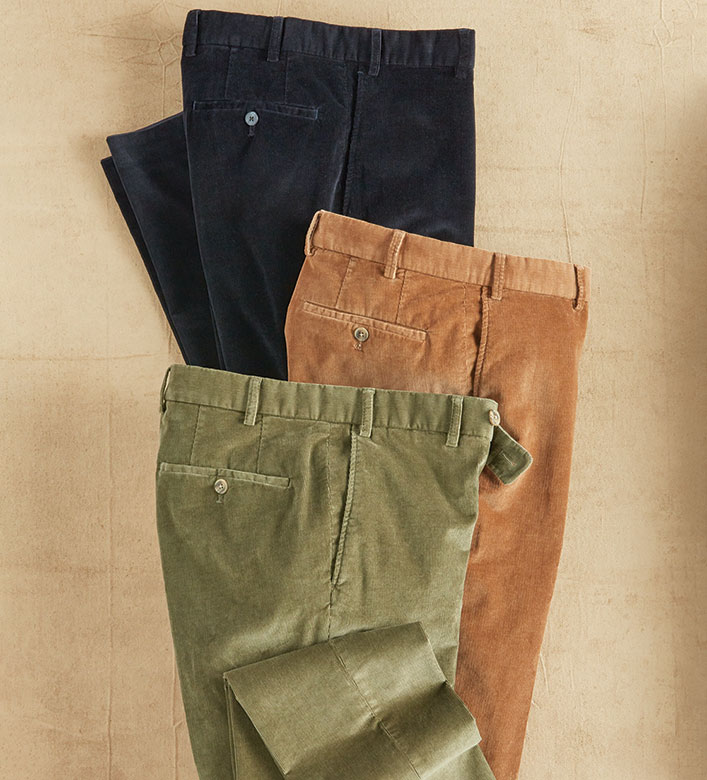 Hiltl Narrow Wale Cord Pants