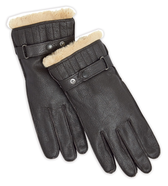 Barbour Arbour Leather Utility Gloves