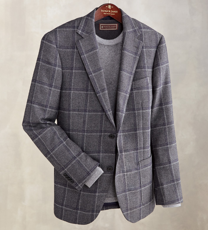 Patrick James Windowpane Sport Coat