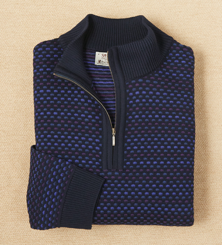 St. Croix Quarter-Zip Sweater