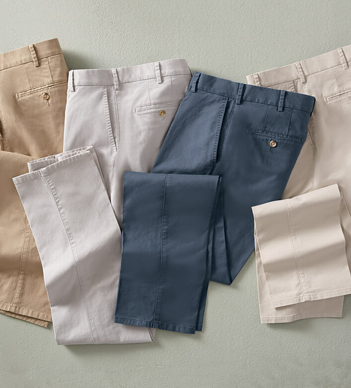 Peter Millar Soft Twill Trousers