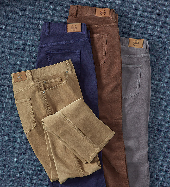 Peter Millar Stretch Cord Jeans