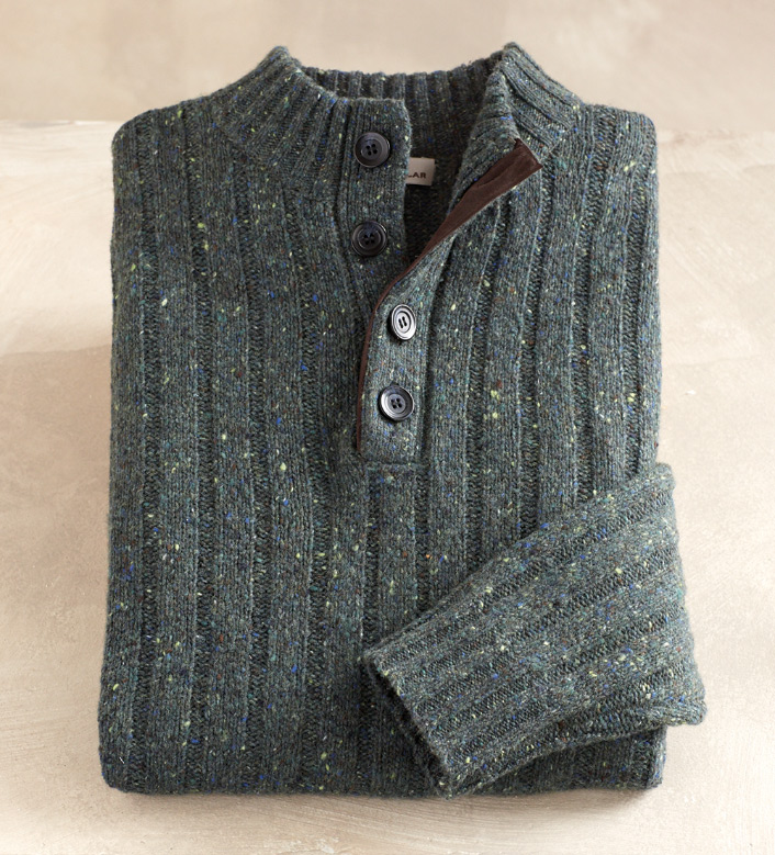 Peter Millar Sierra Tweed Sweater
