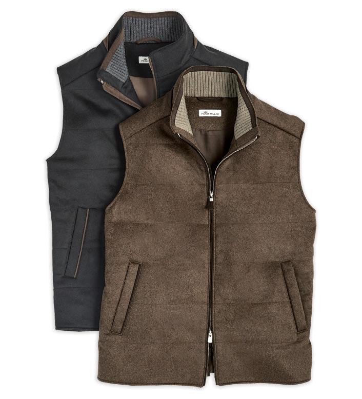 Peter Millar Darien Crown Fleece Vest