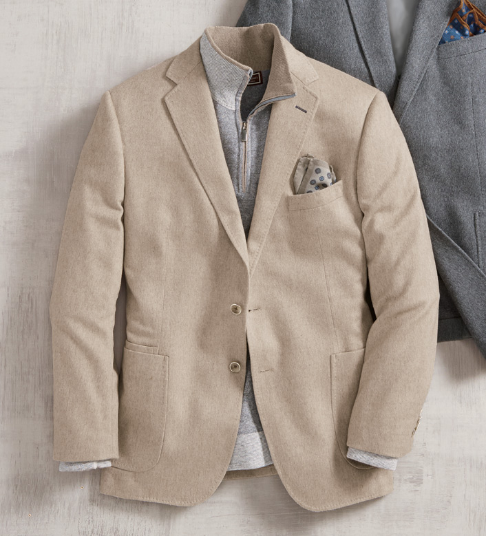 Reserve Heather Mink Cashmere Soft Sport Coat