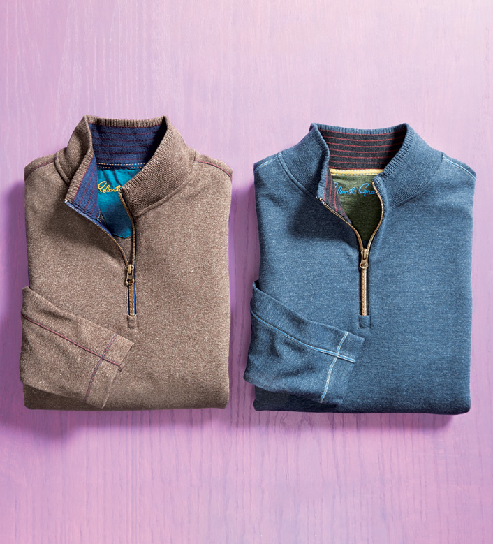 Robert Graham Elia Quarter-Zip Pullover