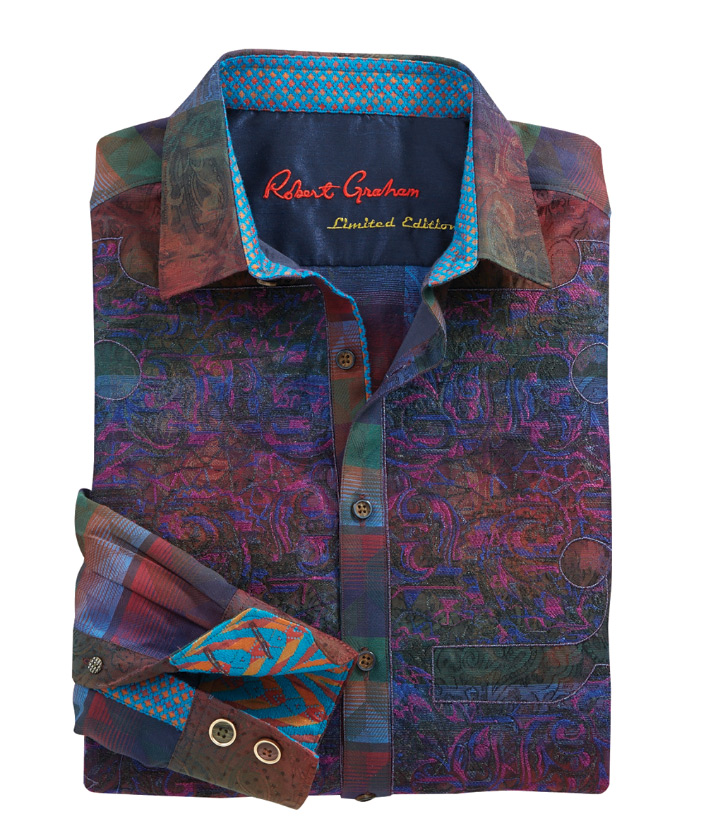Robert Graham Limited Edition Doctor O Embroidered Sport Shirt