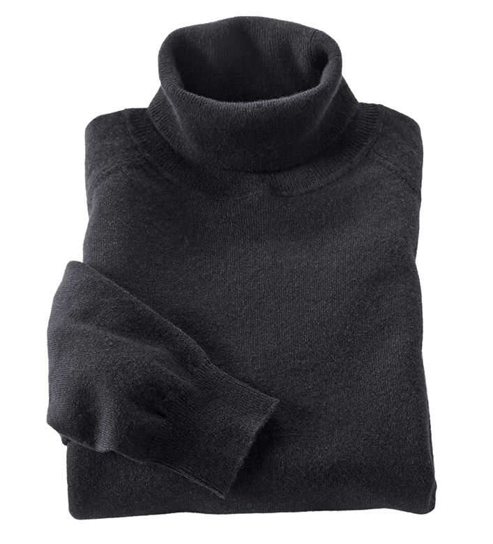 Patrick James Cashmere Turtleneck